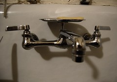 Faucet (Josh Thompson) Tags: shadow kitchen freeassociation d50 sink faucet tap 1855mmf3556g