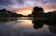 below par (john curley) Tags: pacifica california flooded golf course sharppark