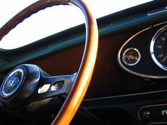 Innocenti Interior (automatic.gear) Tags: innocent mini steering wheel italy classic interior