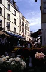 Rue Mouffetard market flowers