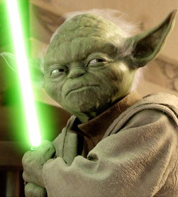 Yoda by Myles Braithwaite.