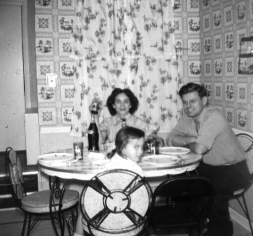 Joe's family at table