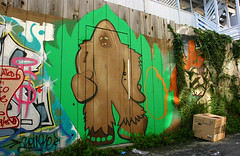 Bigfoot (funkandjazz) Tags: bigfoot characters graffiti sanfrancisco california