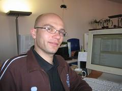 Me at office (oliworx) Tags: 2005 portrait me face topv111 munich mnchen office topv333 desk topv444 topv222 workspace topv100 topv200 200503 topv300 topv400 firstphoto2006 oliworx bytewrx