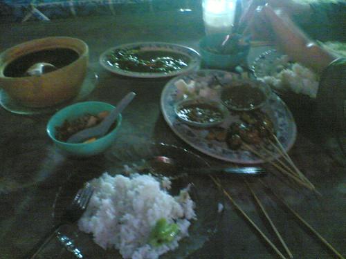 Our lousy dinner @ Cenang beach