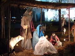 Nativity Scene in India (murky) Tags: stpaulscathedral kolkata calcutta westbengal india december 2005 december2005 nativity christmas