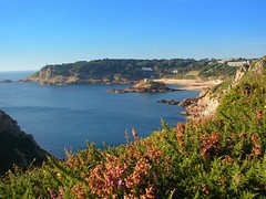Portelet Bay - Jersey (jerseyimage) Tags: greatbritain travel sea tower islands seaside sand britain explore coastal jersey mapprinclude channelislands channel headland portelet porteletbay islandofjersey geo:long=210 geo:lat=4910 jerseyimage