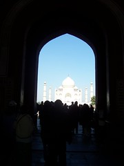 Taj Mahal from Entry Building