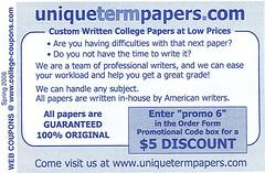 Plagiarism cupon