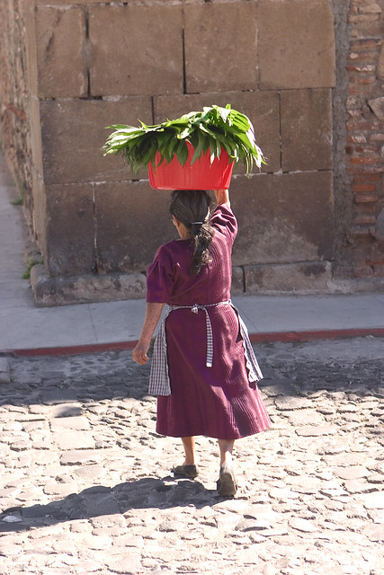 Woman in Guatemala