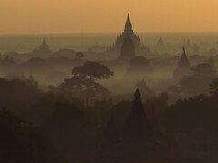 BaganSunriseV!! (kandavu99) Tags: mist sunrise wow dawn bravo asia burma 100v10f myanmar bagan 200viewswinner photodotocontest1