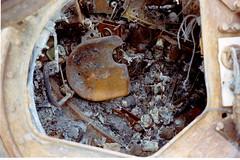 A look inside an Iraqi Tank. (DigitalTribes) Tags: war peace tank iraq 1991 iraqi dt desertstorm digitaltribes operationdesertstorm markoneil