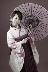袴の卒業写真その壱