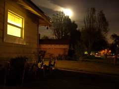 The Moon is Falling (Kris Kros) Tags: california ca trees windows light sky favorite usa cloud moon house tree home window public cali night clouds dark star evening la us losangeles cool bravo pix skies shot superb sweet good sleep gorgeous smoke favorites surreal calm fullmoon socal stunning excellent mostinteresting kris moonlight shooting nightlife goodshot extraordinary homesweethome kkg unbelievable shootingstar moonstruck fallingfromthesky kros homesweet kriskros sleepingtime nonhdr kk2k kkgallery