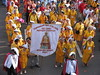 sinulog 2006 - yellow ladies for sto. niño (adlaw) Tags: sinulog sinulog2006 procession stonino festival cebu cebucity philippines colors tradition culture religion faith catholic