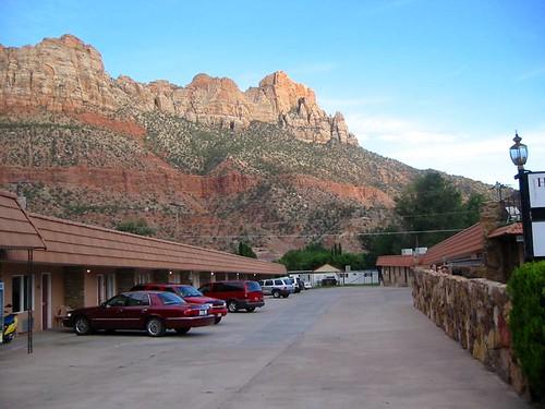 Zion Park Motel, outside Zion National Park, Utah
