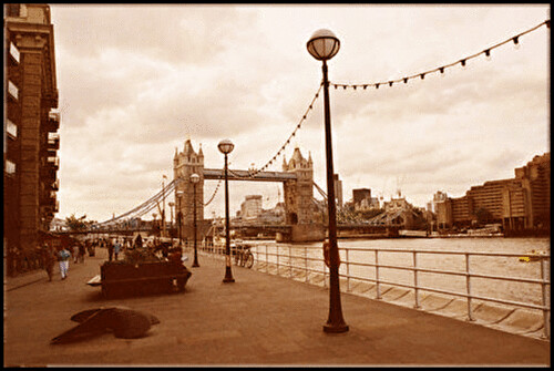 Walkway by the Thames