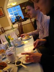 Tea and scones