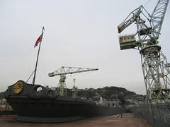 大和 Yamato (kamoda) Tags: film japan model ship hiroshima yamato warship onomichi 広島 onomichicity