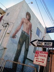 3 Story Jim Morrison (See El Photo) Tags: venice 15fav building love 510fav outside cool nice alley mural funny rockstar lol noparking streetsign great jim loveit explore rocker venicebeach oneway morrison 800views 1000views jimmorrison 1f faved 1015fav 5f 15f 555v5f 333v3f 222v2f 444v4f 111v1f 777v7f 900views 888v8f 666v6f 11f 16f topphotoblog seeelphoto explore242 chrislaskaris