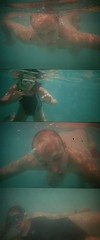 under water (MaiMai_0111) Tags: ocean me water sisters spain holidays dad underwater hannah young spanish lina dieter past menorca firstthought