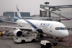 cheap tickets to Israel EL AL 757 4X-EBV