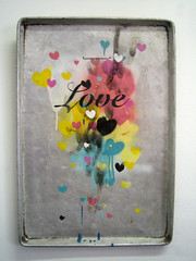 love (cautionwetpaint) Tags: love metal hearts heart tray
