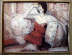 Plovdiv - Jordan Kolchev (becklectic) Tags: 2005 woman painting women europe paintings bulgaria plovdiv