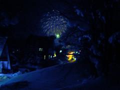 celebrating the Australia Day with fireworks (vfowler) Tags: winter festival japan night hokkaido     niseko