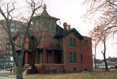 227 adelaide, Detroit (southofbloor) Tags: houses urban tower abandoned detroit cupola belvedere lantern turret brushpark
