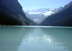 Lake Louise (frankiestallone) Tags: park lake canada mountains water rockies rocky ab canadian glacier louise national alberta banff