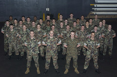MALS-11 detachment to CV-64 OIF 2003. (tenor_t) Tags: usmc freedom marine corps operation iraqi constellation oif cv64 mals11