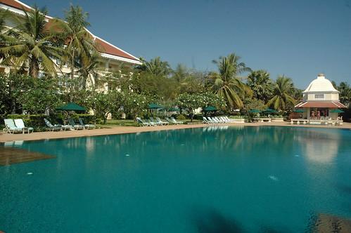Instalaciones del Raffles Grand Hotel Angkor