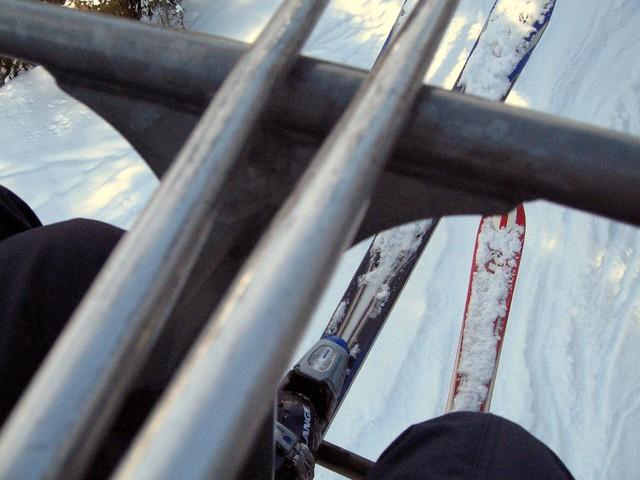 In a skilift
