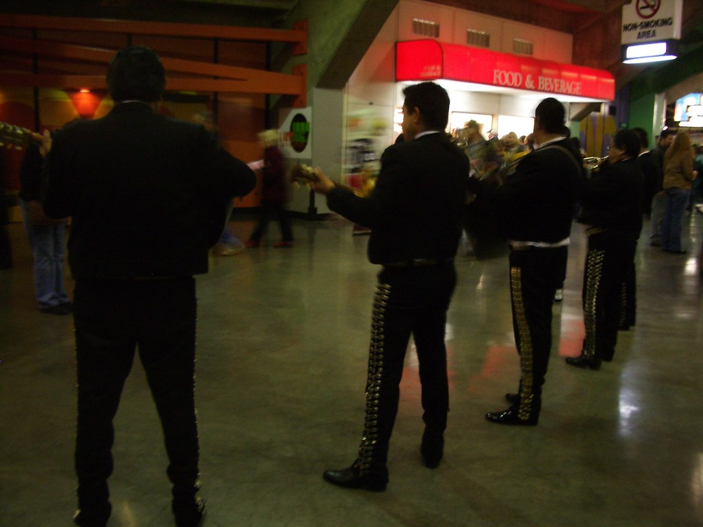 Mariachis?  At a Hockey Game?