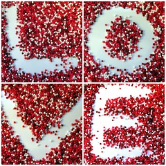 Happy Valentine's Day! (Sister72) Tags: food love fdsflickrtoys candy letters valentine sprinkles tiny valentinesday feb14 february14 fingerpaintingwithcandy impressedbeauty c5closinginonlove ibybvd075 ibybvd075f