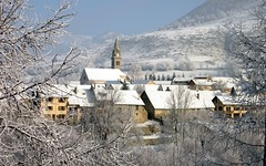 Ancelle village - postcard ? (Pierre Metivier) Tags: winter mountain snow france alps alpes landscape village postcard s80 ancelle hautesalpes