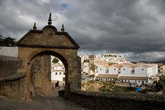 The old gate to Ronda por Giant Ginkgo