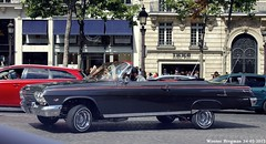 Chevrolet Impala 1962 (XBXG) Tags: auto old usa paris france classic chevrolet car vintage us automobile convertible voiture american frankrijk impala cabrio 1962 v8 amerikaans ancienne roadster cabriolet chevroletimpala amricaine