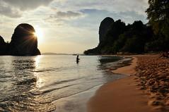 Phra Nang Beach afternoons (marin.tomic) Tags: travel sunset sun holiday seascape beach nature landscape asian thailand nikon asia southeastasia afternoon beachlife thai tropical tropics krabi railay d90 phranangbeach