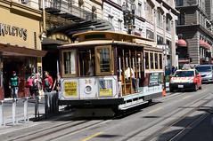 MUNI Cable Car 14 in San Francisco, Powell St DDC_4080 (foto_DM) Tags: sf trolley tram muni cablecar powell streetcar sanfranciso strassenbahn sfmta