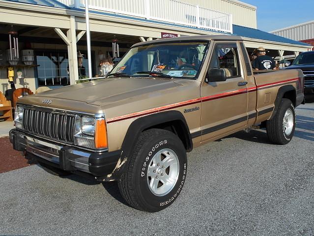 truck jeep 4x4 pickup 1989 pioneer cruisenight comanche glenrockpa marketsatshrewsbury