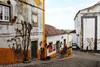IMG_5106 (Hanifah Siregar) Tags: street travel color castle portugal photography europe adventure tiles walls obidos alleys