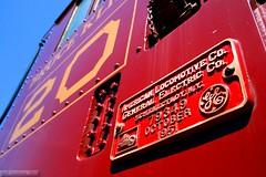 Class of the Fleet (Jeff Carlson_82) Tags: railroad detail train am ar railway storage shops arkansas rutland 20 railfan schenectady springdale alco rs1 stored arkansasmissouri buildersplate
