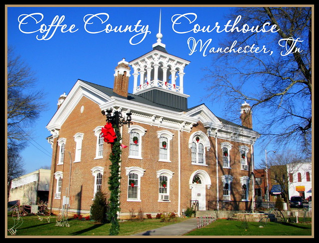 For Sale: TN Courthouse Postcard Collection: Coffee