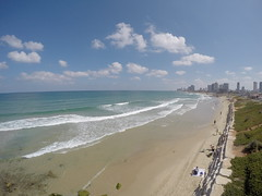 Amazing beaches along Tel Aviv!