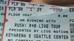 And then it happened! (SEdmison) Tags: seattle washington tour rush frontrow r40