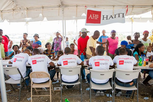 AHF Medical Parade Haiti