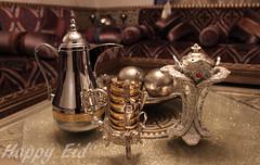 Happy Eid (Abdulrahman Binafif) Tags: coffee happy eid arabic celebration  mubarak  shawal