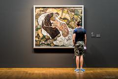 Egon Schiele: Tod und Mdchen (Mann und Mdchen) / Death and Maiden (Man and Girl), 1915 (Anita Pravits) Tags: vienna wien museum exhibition belvedere ausstellung egonschiele leopoldmuseum